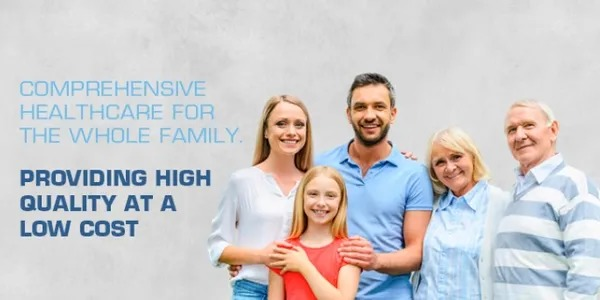 Comprehensive Healthcare for the Whole Family